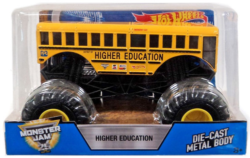 Hot Wheels Monster Jam 25 Higher Education Diecast Car