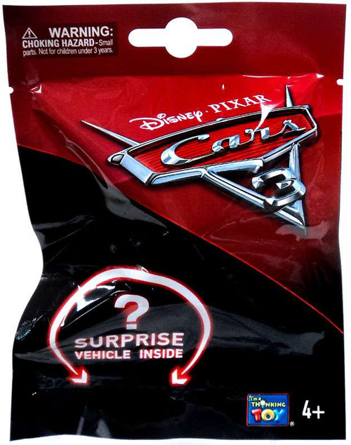 Disney Cars 3 Surprise Vehicle Mystery Pack