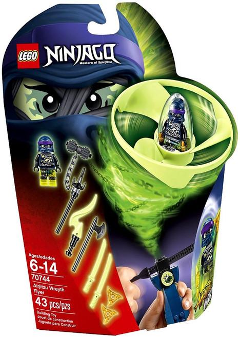 LEGO Ninjago Airjitzu Wrayth Flyer Set #70744