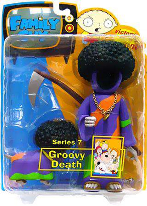 Family Guy Series 7 Death Action Figure [Groovy, Damaged Package]