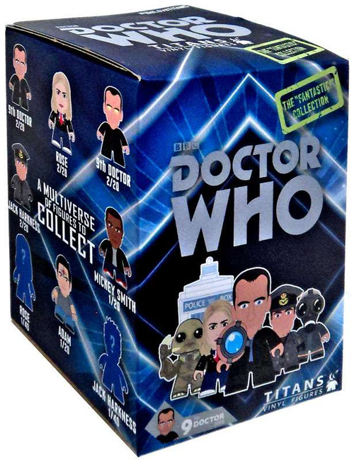 """Doctor Who The """"Fantastic!"""" Collection Vinyl Mini Figure Mystery Pack"""