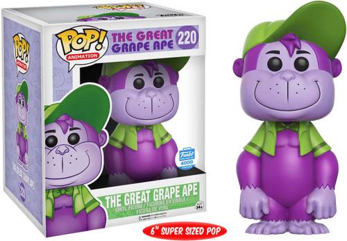 Funko POP! Animation The Great Grape Ape Exclusive 6-Inch Vinyl Figure #220 [Super-Sized]
