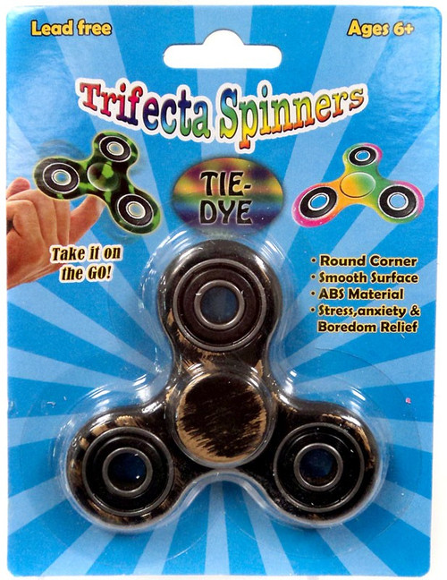 Trifecta Spinners Brushed Black & Gold Spinner