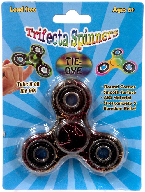 Trifecta Spinners Drizzled Multi-Color Spinner
