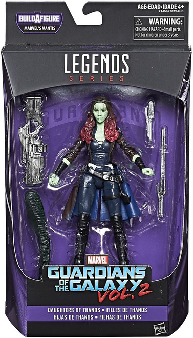 Guardians of the Galaxy Vol. 2 Marvel Legends Mantis Series Gamora Action Figure [Daughters of Thanos]