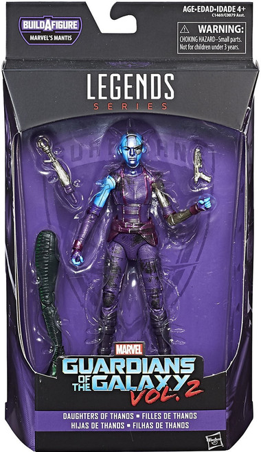 Guardians of the Galaxy Vol. 2 Marvel Legends Mantis Series Nebula Action Figure [Daughters of Thanos]