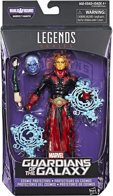 Guardians of the Galaxy Vol. 2 Marvel Legends Mantis Series Warlock Action Figure [Cosmic Protectors]