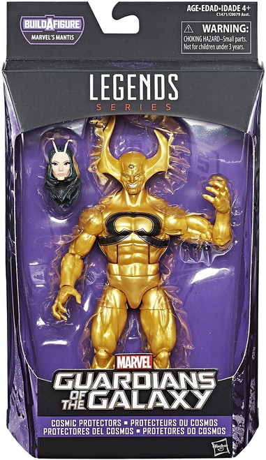 Guardians of the Galaxy Vol. 2 Marvel Legends Mantis Series Ex Nihilo Action Figure [Cosmic Protectors]