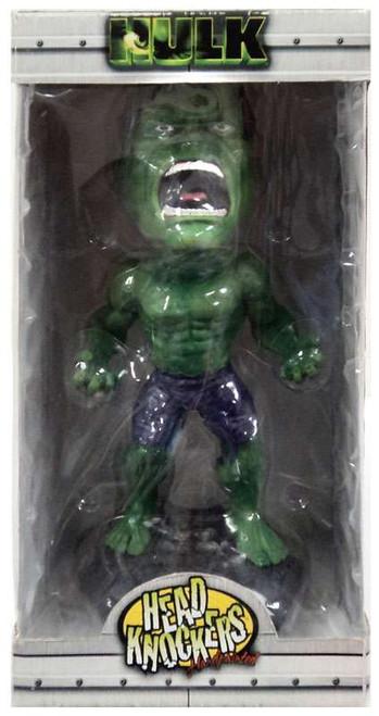 NECA Marvel Head Knockers Hulk Bobble Head [Damaged Package]