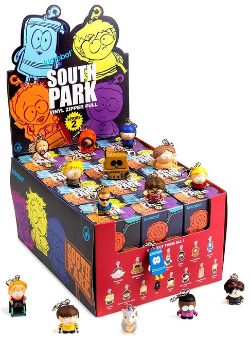 South Park Zipper Pulls Series 2 3-Inch Mystery Box [24 Packs]