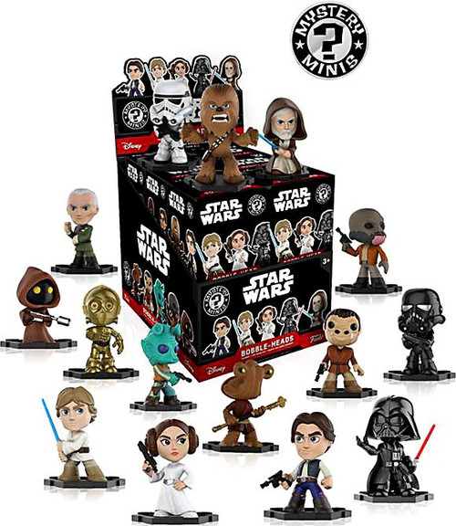 Funko Mystery Minis Star Wars Classic Mystery Box [12 Packs]