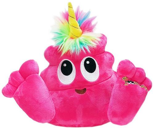 Poonicorn Plushiez Neon Pink Plush Emoji