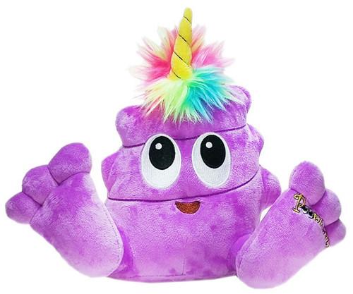 Poonicorn Plushiez Neon Purple Plush Emoji