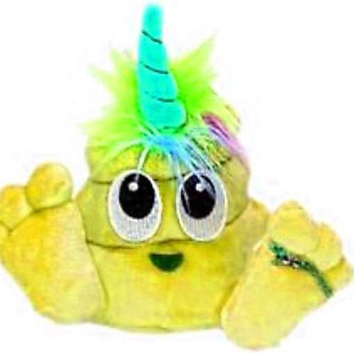 Poonicorn Plushiez Neon Yellow Plush Emoji