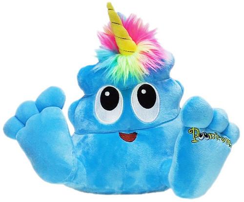 Poonicorn Plushiez Neon Blue Plush Emoji