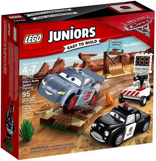 LEGO Disney / Pixar Cars Cars 3 Juniors Willy's Butte Speed Training Set #10742