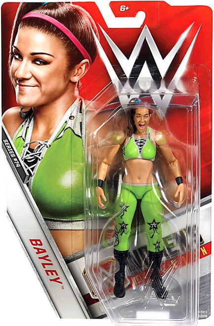 WWE Wrestling Series 74 Bayley Action Figure