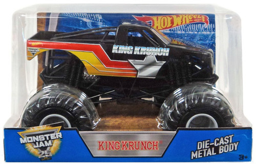 Hot Wheels Monster Jam 25 King Krunch Die-Cast Car