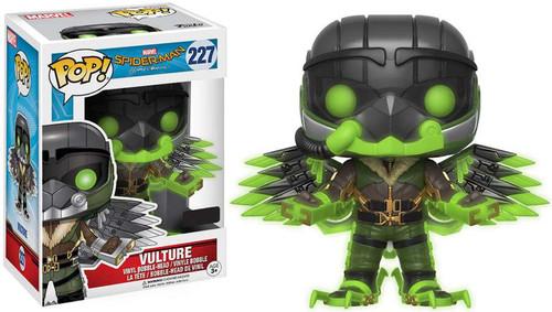 Funko Spider-Man: Homecoming POP! Marvel Vulture Exclusive Vinyl Bobble Head #227 [Glow-in-the-Dark]