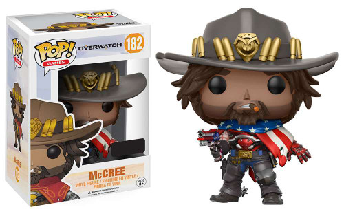 Funko Overwatch POP! Games McCree Exclusive Vinyl Figure #182 [USA]