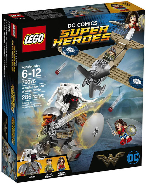 LEGO DC Super Heroes Wonder Woman Warrior Battle Exclusive Set #76075