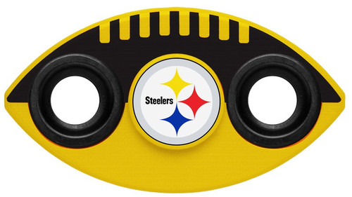 Hand Spinner NFL Two Way Team Spinners Pittsburgh Steelers Spinner