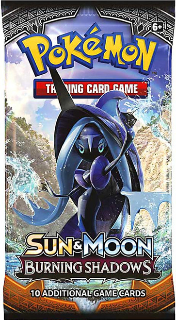 Pokemon Trading Card Game Sun & Moon Burning Shadows Booster Pack [10 Cards]
