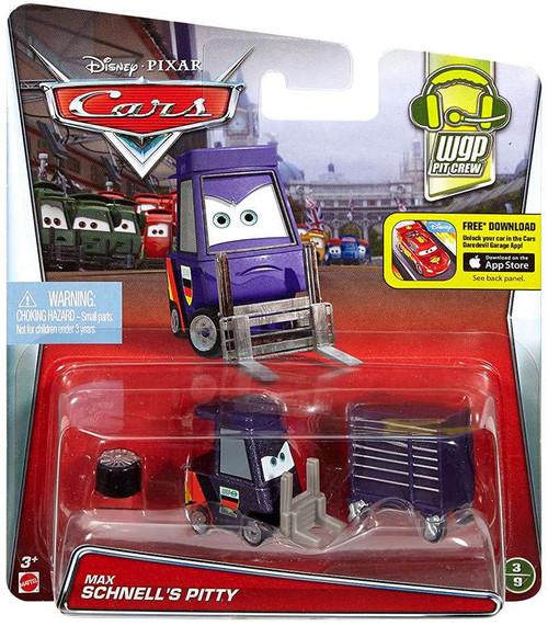 Disney / Pixar Cars WGP Pit Crew Max Schnell's Pitty Diecast Car #3/9