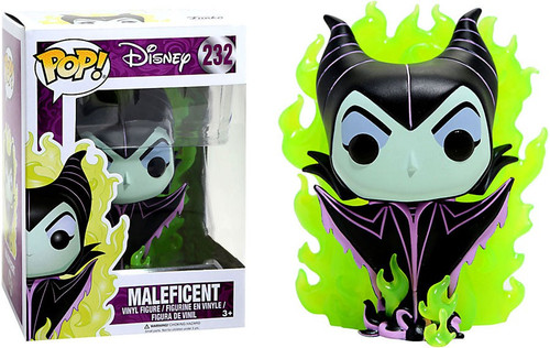 Funko Sleeping Beauty POP! Disney Maleficent Exclusive Vinyl Figure #232 [Green Flames]