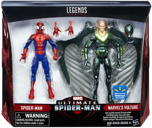 Marvel Legends Ultimate Spider-Man Spider-Man & Vulture Exclusive Action Figure 2-Pack