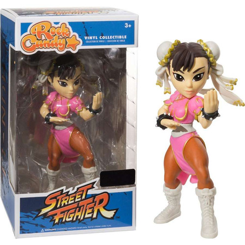 Funko DC Rock Candy Chun-Li Exclusive Vinyl Figure [Pink]