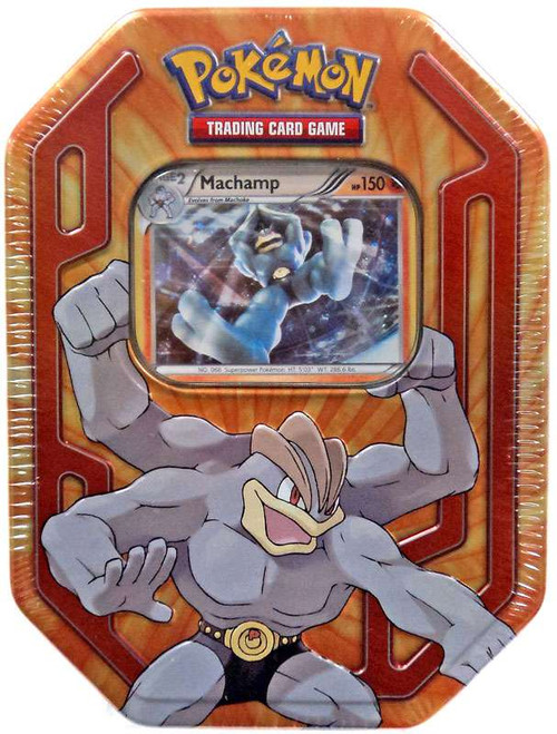 Pokemon Trading Card Game Champions Machamp Tin Set