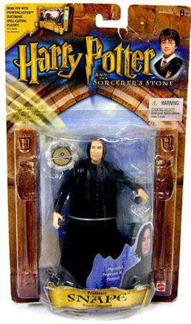 Harry Potter The Sorcerer's Stone Professor Snape Action Figure [Damaged Package]