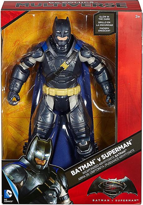 DC Batman v Superman Multiverse Weaponized Kryptonite Batman Exclusive Deluxe Action Figure