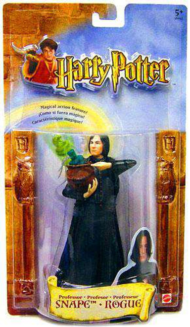 Harry Potter Magical Action Professor Snape Action Figure [Damaged Package]