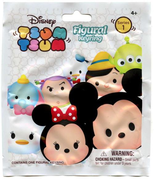 Disney 3D Figural Keyring Tsum Tsum Series 1 Mystery Pack [White]