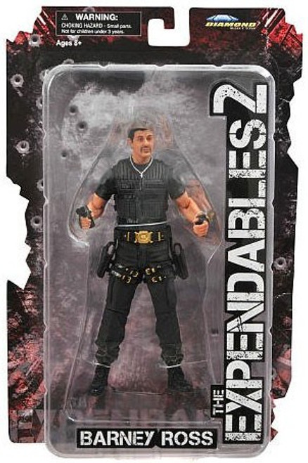 The Expendables 2 Barney Ross Action Figure [No Baret]