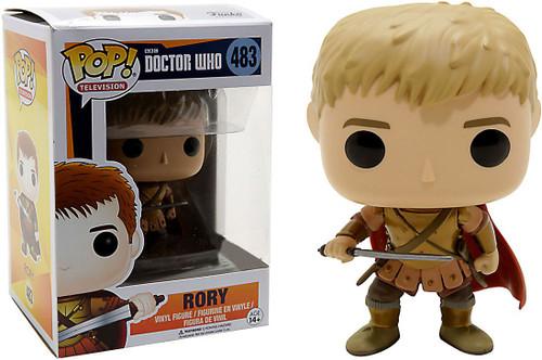 Funko Doctor Who POP! TV Rory Exclusive Vinyl Figure #483 [Last Centurion]