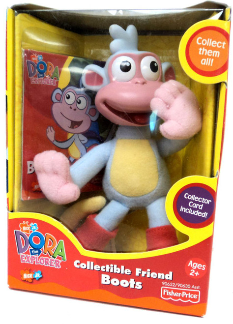Fisher Price Dora the Explorer Collectible Friend Boots 4-Inch
