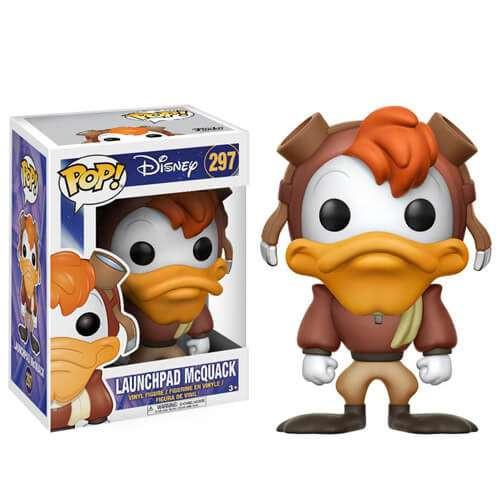 Funko Darkwing Duck POP! Disney Launchpad McQuack Vinyl Figure #297