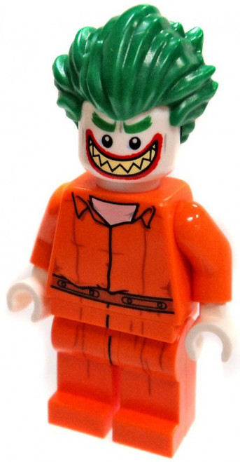 LEGO DC Arkham Prison Jumpsuit Joker Minifigure [Loose]