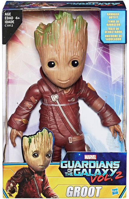 Marvel Guardians of the Galaxy Vol. 2 Groot Exclusive Action Figure