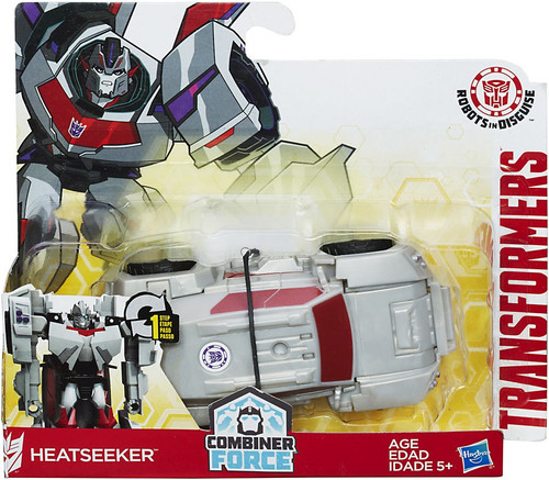 Transformers Robots in Disguise 1 Step Changers Heatseeker Action Figure [Combiner Force]