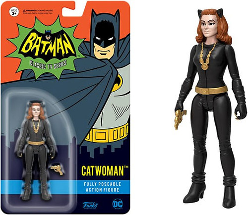 Funko Batman 1966 TV Series DC Heroes Catwoman Action Figure