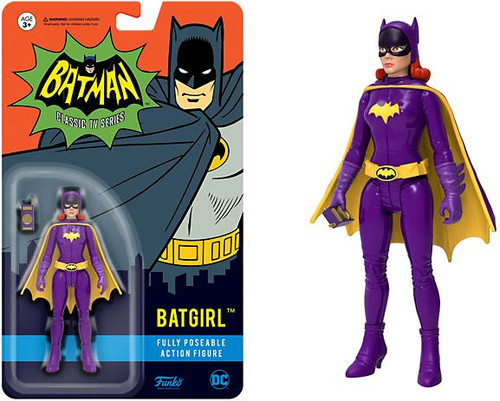 Funko Batman 1966 TV Series DC Heroes Batgirl Action Figure