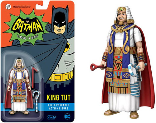 Funko Batman 1966 TV Series DC Heroes King Tut Action Figure