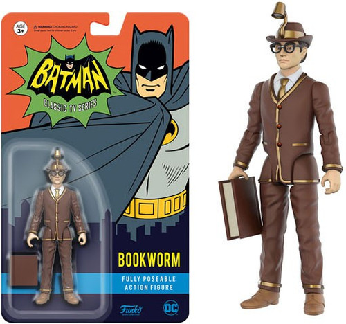 Funko Batman 1966 TV Series DC Heroes Bookworm Action Figure