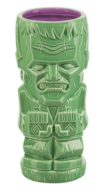 Monsters Geeki Tiki Frankenstein's Monster 7-Inch Glass