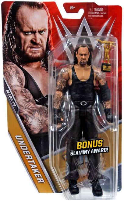 WWE Wrestling Series 71 Undertaker Action Figure [Bonus Slammy Award]