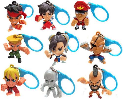 Street Fighter Set of 9 Backpack Hangers [Loose]